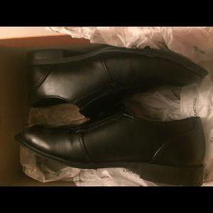 Sonoma boys black dress shoes size 3